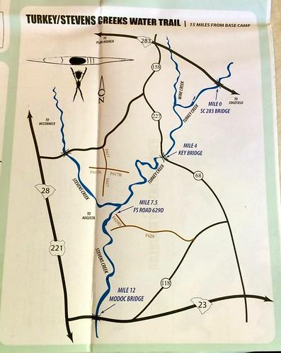 Turkey Creek and Stevens Creek Paddling Trail