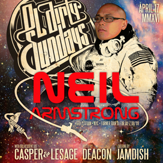 4/17 - DJ Neil Armstrong in Tampa for Ol' Dirty Sundays @ Crowbar Live