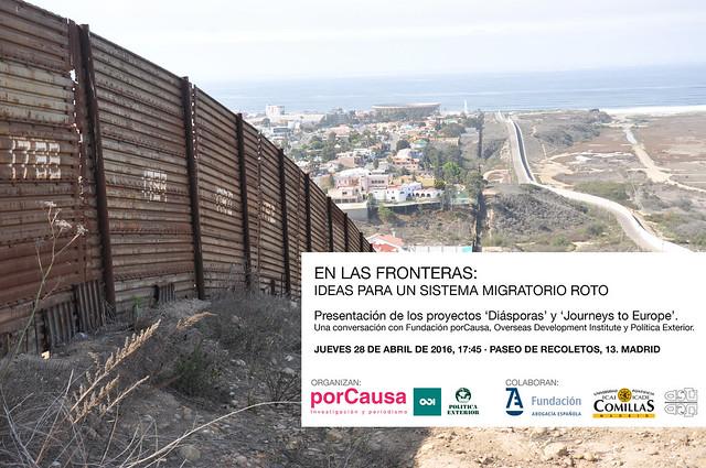 En las fronteras: Ideas para un modelo migratoro roto