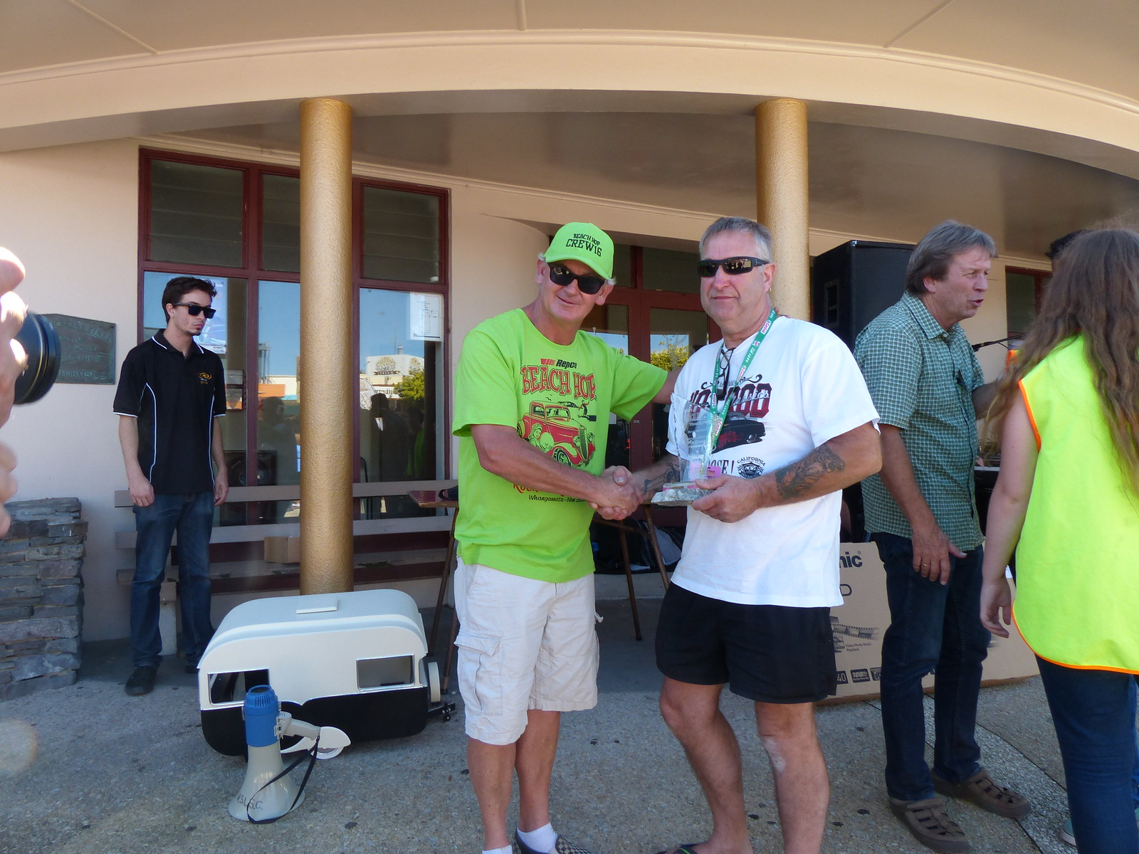 Waihi Beach Hop Prize Giving Miner's Choice Hot Rod