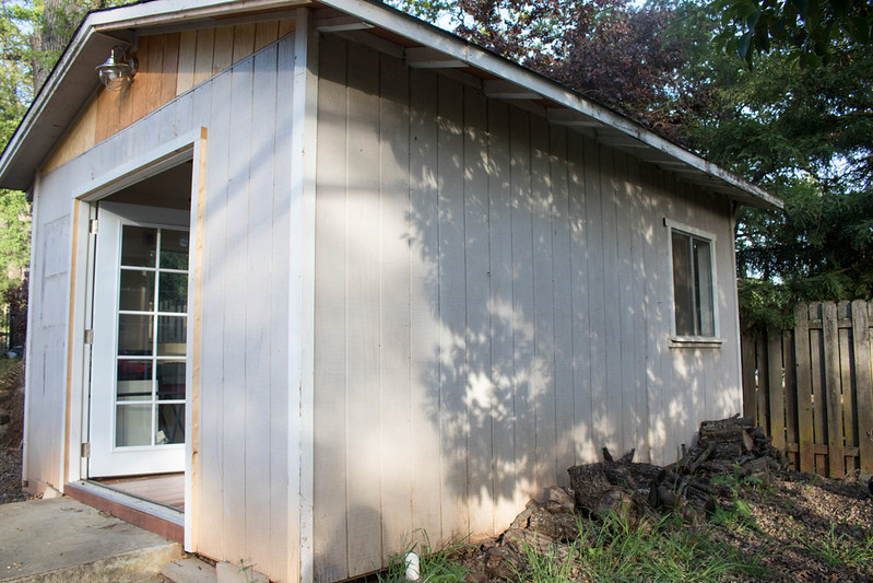 Left Side of the Shed