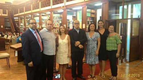 MEC / INEP Na Biblioteca de Direito da UFRJ