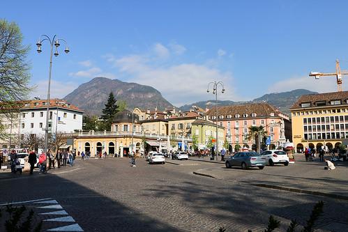Waltherplatz Piazza Walther Bozen Bolzano Südtirol Alto Adige Italien Italia Blogger-Reise Booking Südtirol www.bookingsuedtirol.com