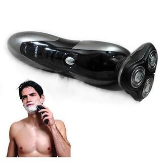 rasoir-electrique-homme-3-tetes-rechargeable