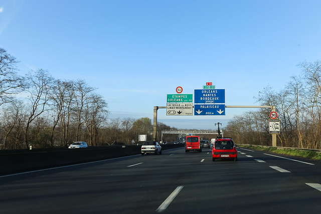 Autoroute A10 - Massy (France)