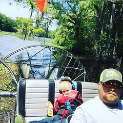 #photo #tagged to Team #airboataddicts by and go #follow #airboataddict @dewaynehobkirk He and his #co-pilot headed to eat lunch at #riverrats the #withlacoocheeriver #florida in the #outdoors for some #goodtimes been #addicted this #airboatlife #riverlif