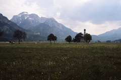West Germany   -   Schwangau    -   St. Coleman Kirche    -    May 1989