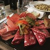 Things I missed about Italy - pasta and charcuterie for appetizer... #food #Italy #Firenze