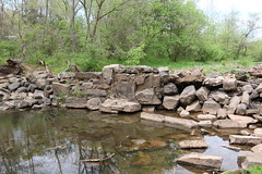 Silas Hutchison Saw and Grist Mill Dam (Ruins), Chantilly, VA