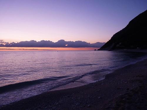 sea italy sunrise twilight mare alba september marche 2010 adriatico ancona portonovo settembre2010 giorgiorodano