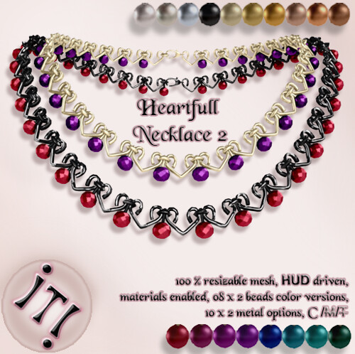 !IT! - Heartfull Necklace 2 Image