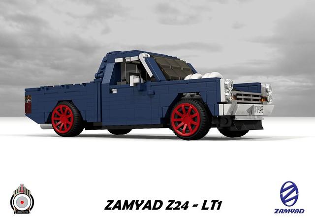 LUGNuts Custom Zamyad Z24 - LT1 Pickup
