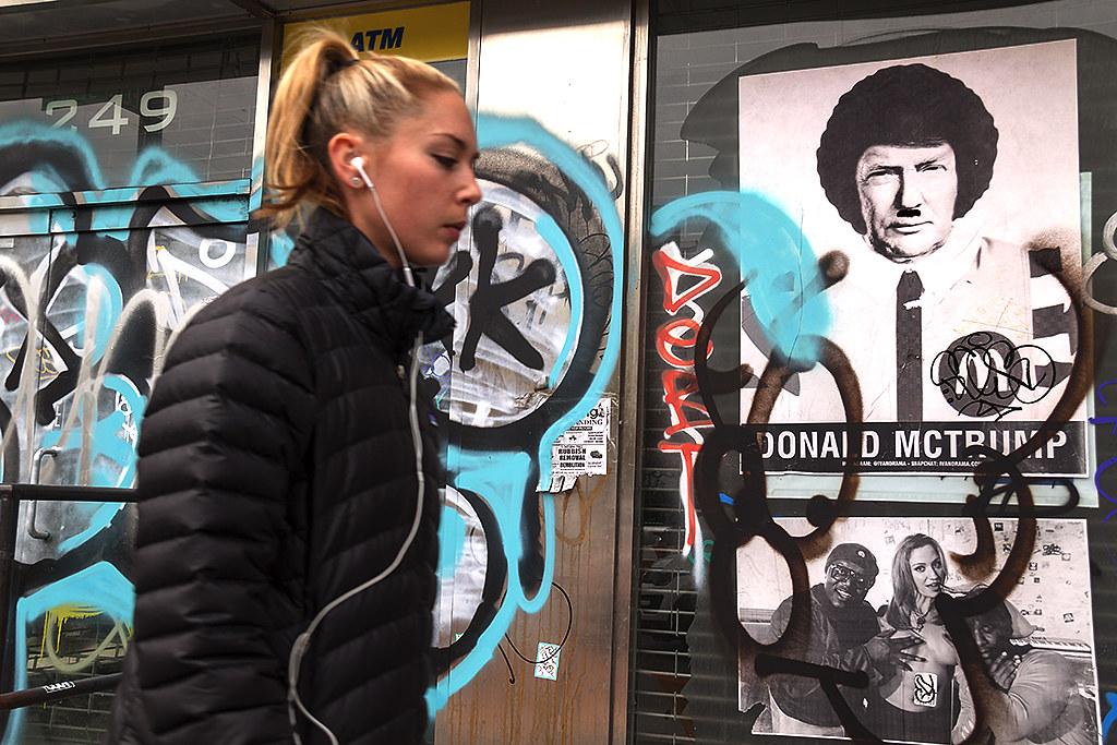 DONALD MCTRUMP--Lower East Side