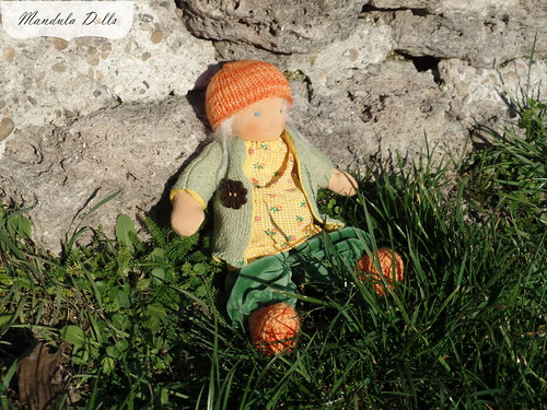 Anna 22cm fabric doll_2