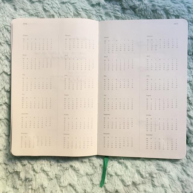 Patty Villegas - Starbucks Moleskine Weekly Planner 2016 -5