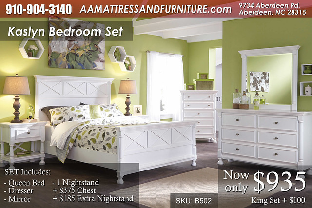 Kaslyn Bedroom Set WM