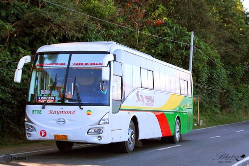 bus transportation raymond society hino pilipinas rk philippine enthusiasts 8708 mrseries philbes rk1j j08ctk