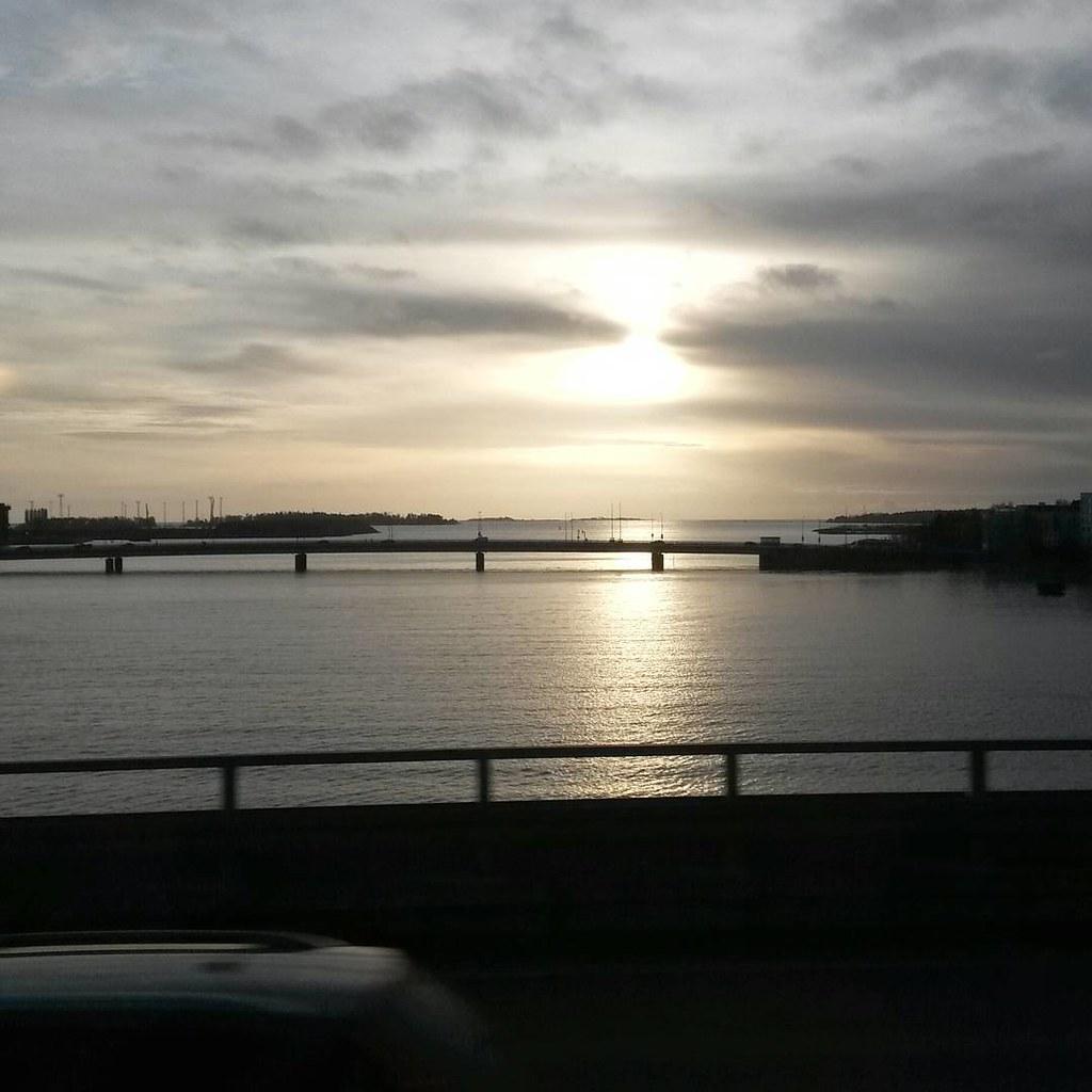Lauttasaaren silta, Helsinki, Suomi