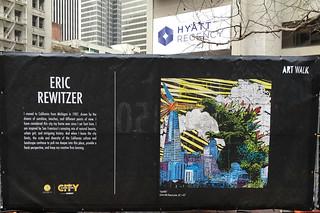 Super Bowl City - Art Walk Eric Rewitzer
