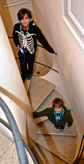 spiral staircase Antoni Gaudí - Casa Batllo