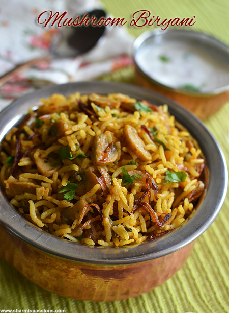 how to make biryani rice recipe
