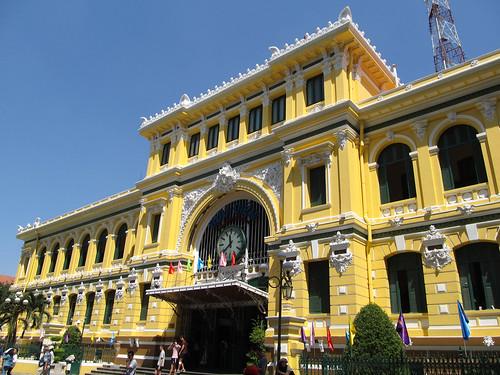 Ho Chi Minh Ville: la Poste