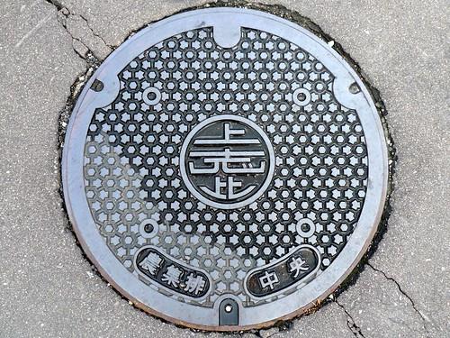 Kamishihi Fukui, manhole cover (福井県上志比村のマンホール)