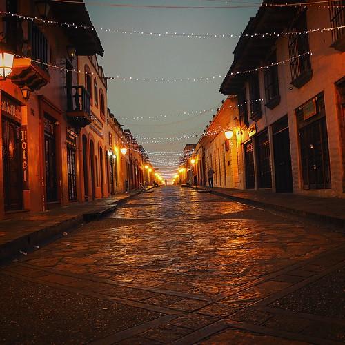 travel art nature architecture sunrise vintage mexico lights photo raw colonial spanish chiapas