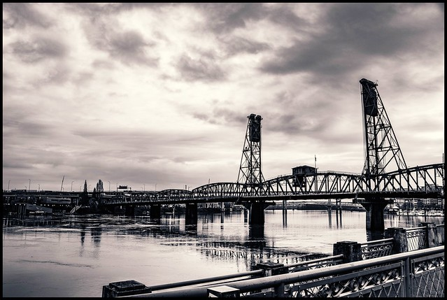 Portland in Black & White