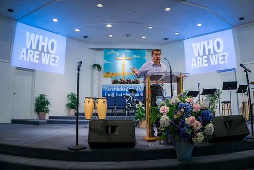 Tim Paskert Preaching