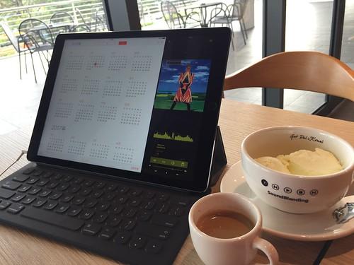 Colat Music Player V2 iPad Pro Multitasking SplitView
