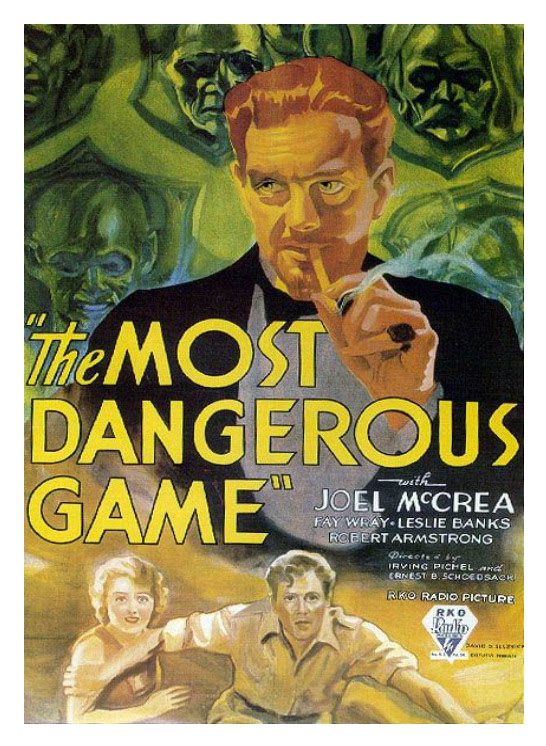 The Most Dangerous Game - Poster 2