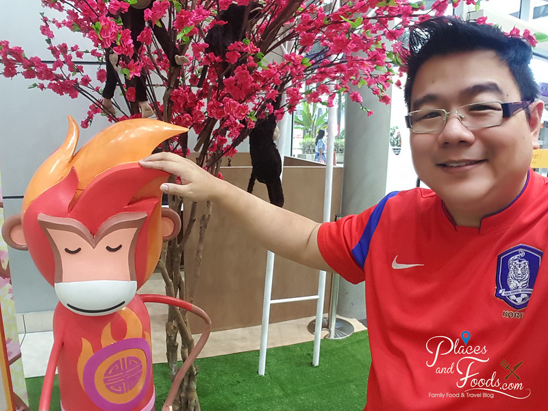 ipc cny fire monkey selfie