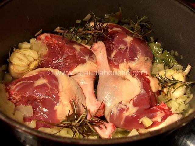 Rillettes de Canard et de Porc au Poivre Rouge © Ana Luthi Tous droits réservés 05
