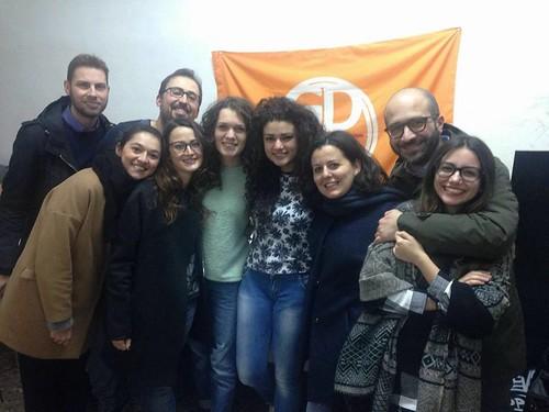 Il gruppo dei Giovani Demodratici