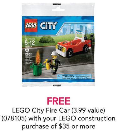 LEGO City Fire Car (30347) Offer
