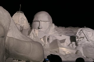 Sapporo Snow Festival Attack of the Titans