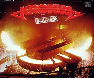 "KROKUS HARDWARE INCL CUSTOM INNER SLEEVE HOLLAND IMPORT 12"" LP VINYL"