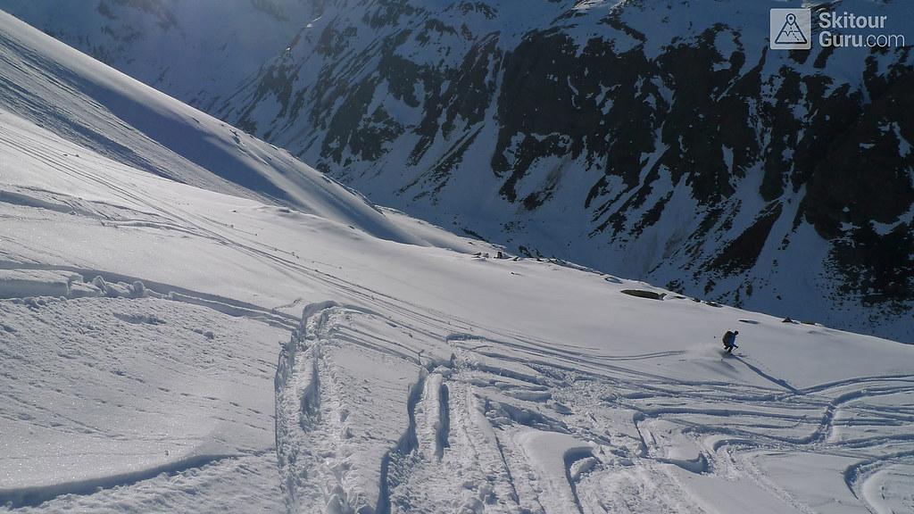 Kraulscharte Stubaiské Alpy Österreich foto 20
