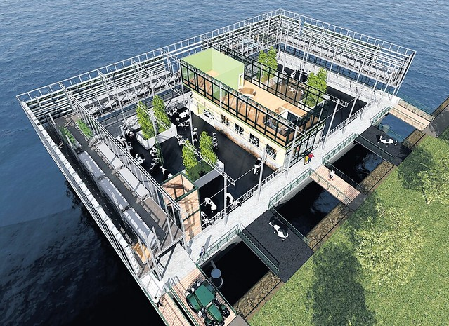 Floating Farm Rotterdam