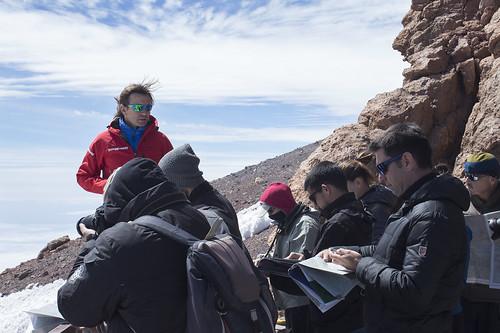 Curso de cartografía básica en el Teide