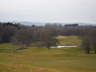 South Downs across East Sussex National Golf Course