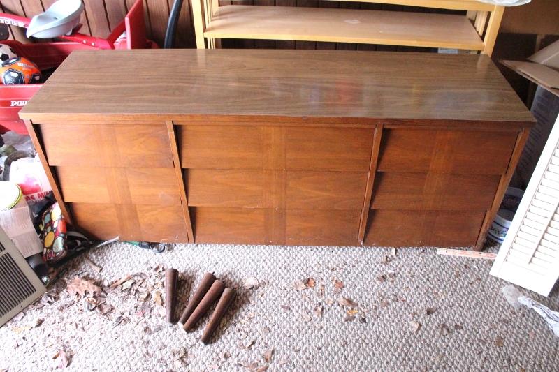 Dresser, before