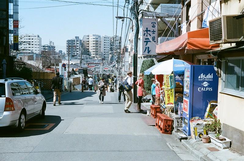 日暮里・谷中 by Rollei B35