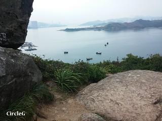 CIRCLEG 圖文 東龍島 遊記 一天遊 香港 西灣河 船 (26)