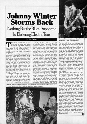 Johnny Winter Storms Back