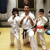 Yep! #karatekyokushin new level for both kiddies