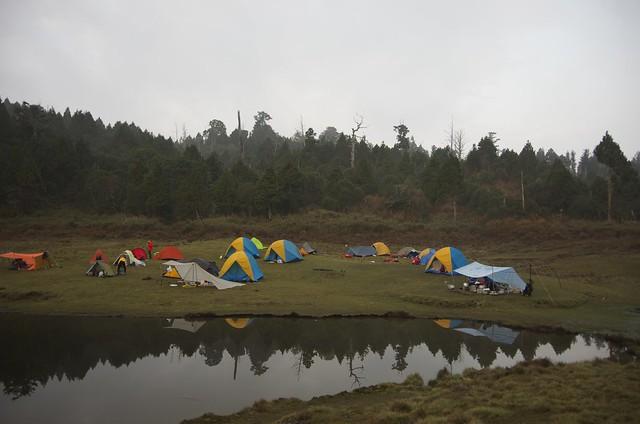 會在降雨機率70%以上的日子探訪加羅湖,多少應該有點痴狂。