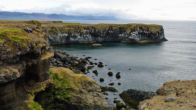 Arnarstapi coast