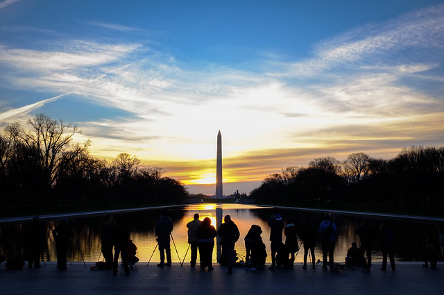 Washington Monument at Dawn